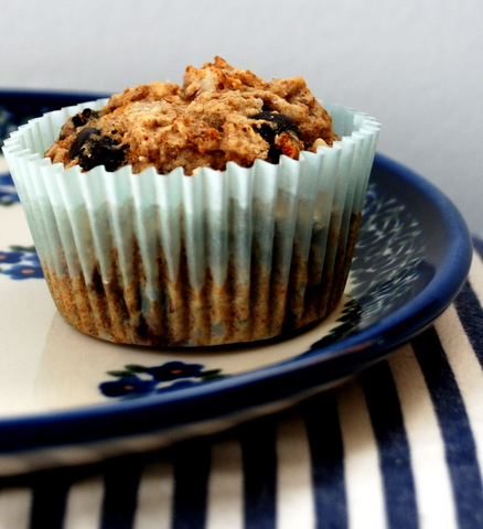 Blue Berry Bran Muffins
